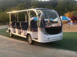 凯驰四轮景区观光电动车-11座电动观光车