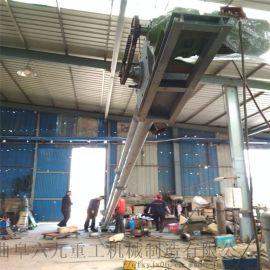 平顶山不锈钢玻璃 管链提升机 Ljxy 管链机结构