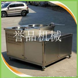 粉肠灌装灌肠机液压-猪肉焖子液压灌肠机现货