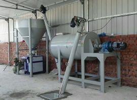 1吨型腻子粉搅拌机 腻子粉生产设备