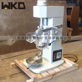 实验室小型浮选机 选矿实验室用单槽浮选机型号