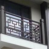 民间古式铝合金花格窗 古建方管焊接铝花格厂家