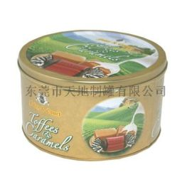 厂家专业制造马口铁罐 食品圆罐 圆形铁罐 铁罐定制