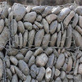西安海洋工程治理镀锌石笼网/生态网格石笼网护岸
