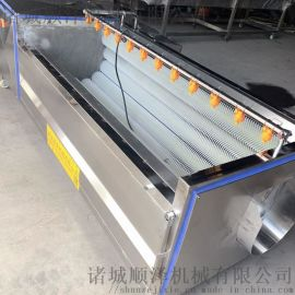 新疆胡萝卜清洗大型生产线白萝卜清洗设备
