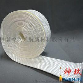 神玖厂家直销石英纤维套管 耐高温 绝缘阻燃纤维套管