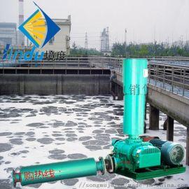 三叶罗茨鼓风机肇庆底部罗茨曝气泵JDR-65型