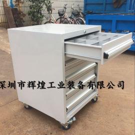 5层钳工柜 重型加厚工具柜 移动工具车