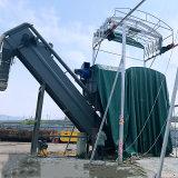 火车货站集装箱卸灰倒灌车设备无尘粉煤灰自动上车机