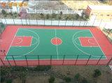 湖北球场塑胶篮球场施工旧球场翻新改造 篮球场造价