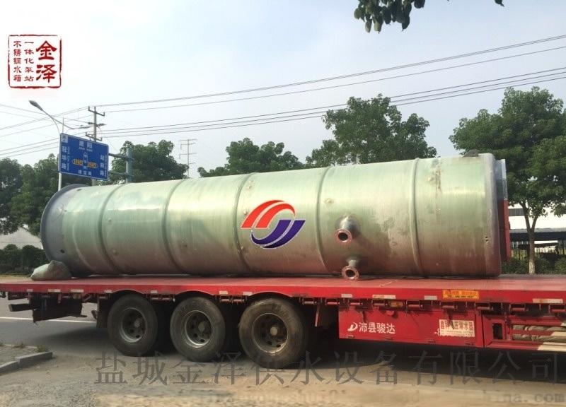 浙江溫嶺一體化污水泵站廠家