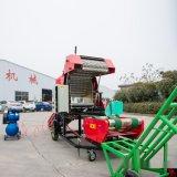 秸稈青儲一體機 麥秸青儲打包機 圓捆麥秸打包機