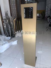 小区可视对讲机立柱,门口机立柱如何安装