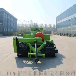 玉米秸秆方捆拾草机 秸秆方捆压块机