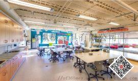 德国VS国际学校家具Douglas Park Elementary儿童课桌椅