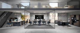 厦门办公家具职员办公桌现代屏风隔断工作位电脑桌