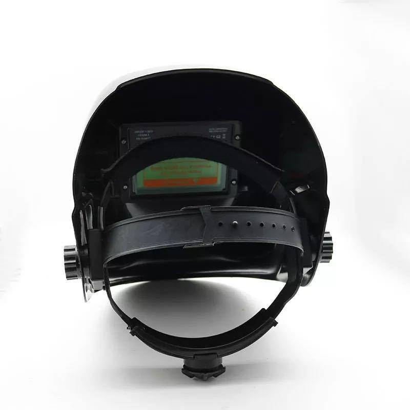 厂家直销电焊面罩 自动变黑电焊帽子