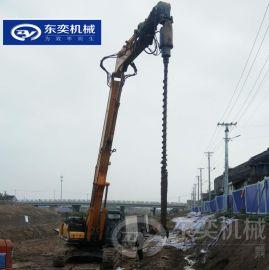 挖机旋挖钻机 厂家直销螺旋打桩钻孔机