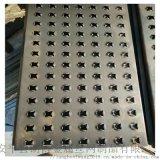 厂家定做起鼓防滑板镀锌板圆孔鱼眼铝合金脚踏板