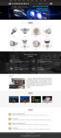 安徽企业网站建设 | LED光束灯具双语网站制作