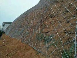 护坡铁丝网型号  主动防护网单价