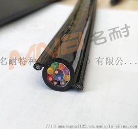 双钢丝抗拉葫芦电缆RVV2G10乘1点5