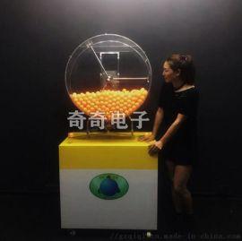 全自動搖獎機噴氣式  吹氣搖號雙色球