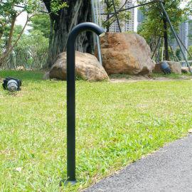现代led户外草坪灯防水弯曲灯花园灯景观灯公园灯