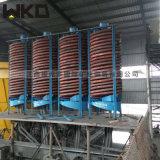 新型螺旋溜槽 大型螺旋溜槽 直徑2米玻璃鋼螺旋溜槽