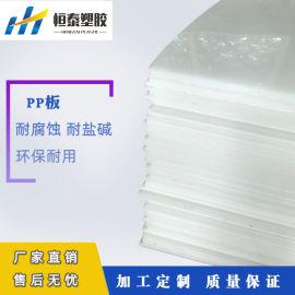 厂家直销聚丙烯板 白色纯PP板 PP板厂家