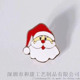 圣诞老人徽章制作 找深圳做圣诞金属徽章的厂
