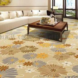 恒拓达 酒店宾馆KTV走廊满铺涤纶印花地毯