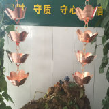 涼亭寺廟用導雨鏈 純銅雨鏈生產加工