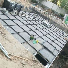 不锈钢螺栓大型地埋式消防水池