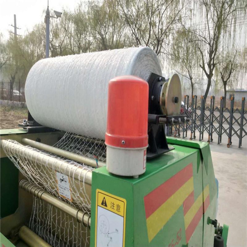 玉米青储秸秆打包机,玉米秸秆青贮压块机