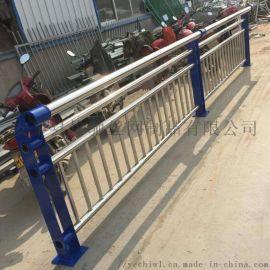 不锈钢复合管防撞护栏厂家 桥梁边栏杆