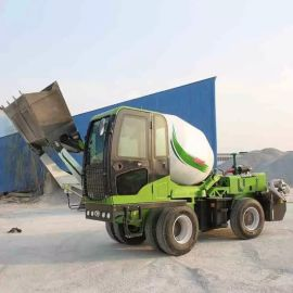 供应水泥搅拌运输车 3.5方混凝土自动上料搅拌运输车