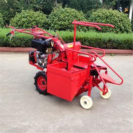 小型农业柴油苞米收获机手扶单行玉米秸秆粉碎收割机