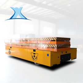 蓄电池车间运件电动车 橡胶转运车