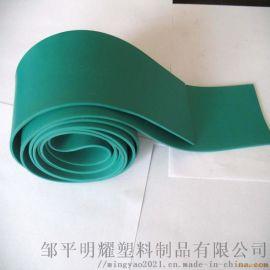 供应耐腐蚀pvc塑料软板 防腐抗压绿软板酸碱槽内衬 电镀槽内衬板