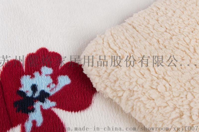 追求毛毯款式来看看馨格家纺欧美法兰绒款