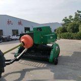 大型麦秆打捆机 双破碎秸秆打捆机 方捆捡拾打草机