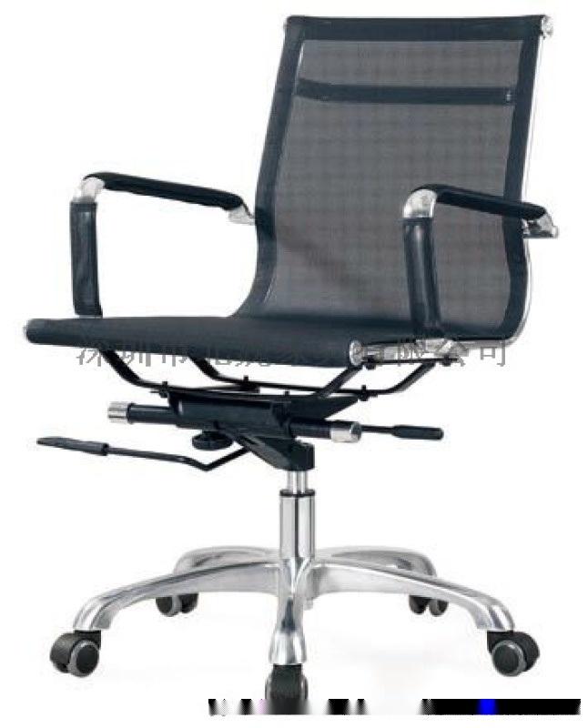 网布会议椅-网布职员椅-折叠培训椅