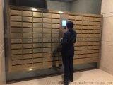 振耀智能不锈钢信报箱一卡通小区楼宇别墅免接线信报箱
