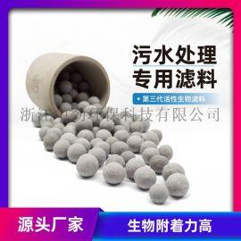 中劲  代活性生物滤料(水处理滤池生物陶粒滤料 )