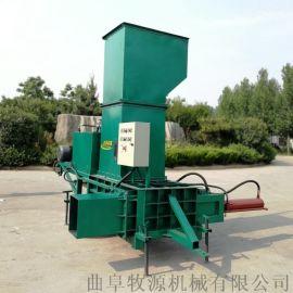 玉米秸秆压块机全自动储存青贮秸秆压块机