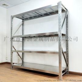 轻型304不锈钢置物架货架 广州货架 仓储货架4层货架