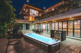 私人泳池設備廠家-湖北泳池設備-無邊際泳池價格