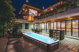 私人泳池设备厂家-湖北泳池设备-无边际泳池价格