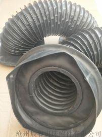 工程用液压缸防护罩,沧州嵘实液压缸防护罩